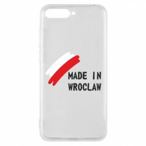 Huawei Y6 2018 Case Made in Wroclaw