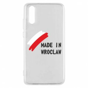 Huawei P20 Case Made in Wroclaw