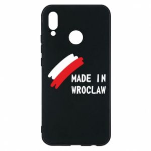 Huawei P20 Lite Case Made in Wroclaw