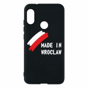 Mi A2 Lite Case Made in Wroclaw