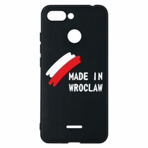 Xiaomi Redmi 6 Case Made in Wroclaw