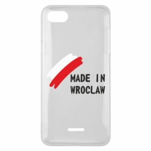 Xiaomi Redmi 6A Case Made in Wroclaw