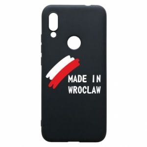 Xiaomi Redmi 7 Case Made in Wroclaw