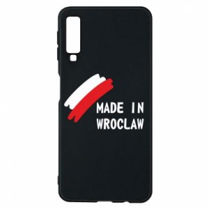 Samsung A7 2018 Case Made in Wroclaw