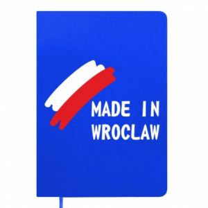 Notepad Made in Wroclaw