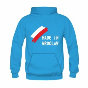 Kid's hoodie Made in Wroclaw