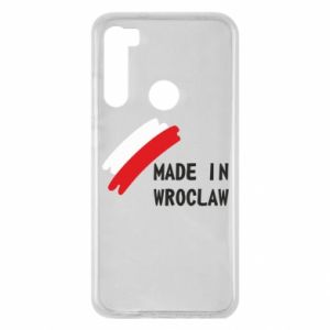 Xiaomi Redmi Note 8 Case Made in Wroclaw