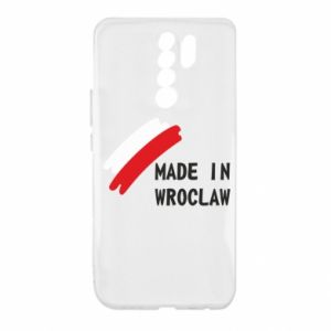 Xiaomi Redmi 9 Case Made in Wroclaw