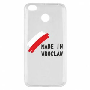 Xiaomi Redmi 4X Case Made in Wroclaw