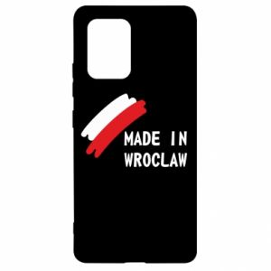 Samsung S10 Lite Case Made in Wroclaw