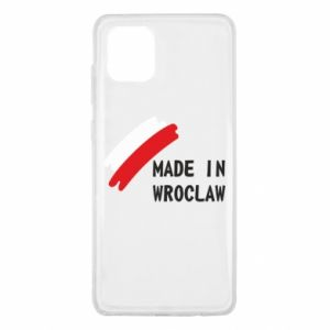 Samsung Note 10 Lite Case Made in Wroclaw