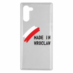 Samsung Note 10 Case Made in Wroclaw