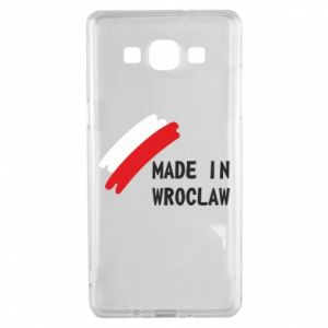 Samsung A5 2015 Case Made in Wroclaw