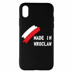 iPhone X/Xs Case Made in Wroclaw