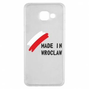 Samsung A3 2016 Case Made in Wroclaw