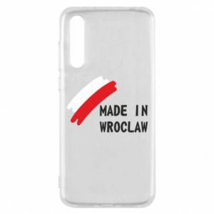 Huawei P20 Pro Case Made in Wroclaw