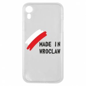 iPhone XR Case Made in Wroclaw