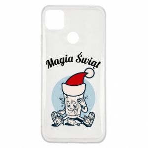 Etui na Xiaomi Redmi 9c Magia Świąt