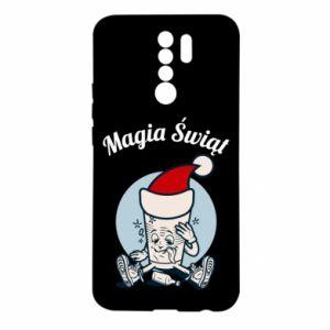 Etui na Xiaomi Redmi 9 Magia Świąt