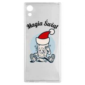 Etui na Sony Xperia XA1 Magia Świąt