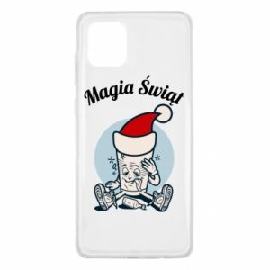 Etui na Samsung Note 10 Lite Magia Świąt