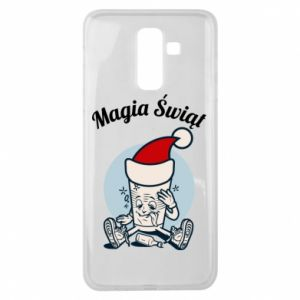 Etui na Samsung J8 2018 Magia Świąt