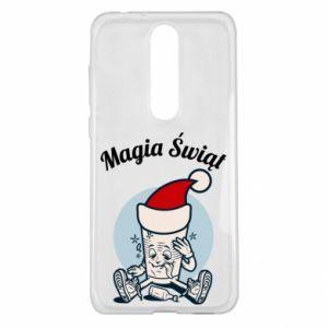 Etui na Nokia 5.1 Plus Magia Świąt