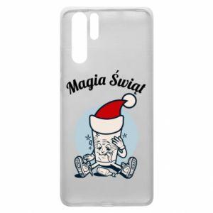 Etui na Huawei P30 Pro Magia Świąt