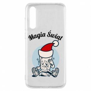 Etui na Huawei P20 Pro Magia Świąt