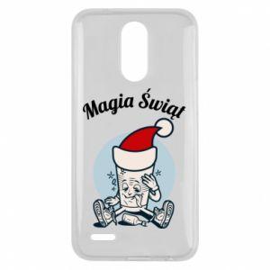 Etui na Lg K10 2017 Magia Świąt