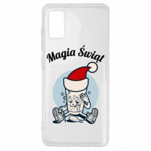 Etui na Samsung A41 Magia Świąt