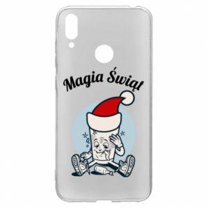 Etui na Huawei Y7 2019 Magia Świąt