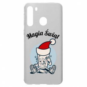 Etui na Samsung A21 Magia Świąt