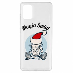 Etui na Samsung A51 Magia Świąt