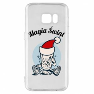Phone case for Samsung S7 The Magic Of Christmas