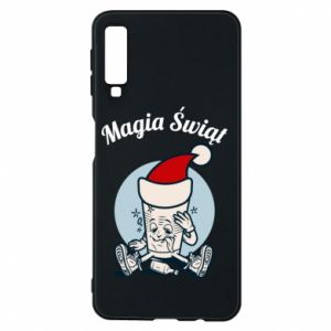 Phone case for Samsung A7 2018 The Magic Of Christmas