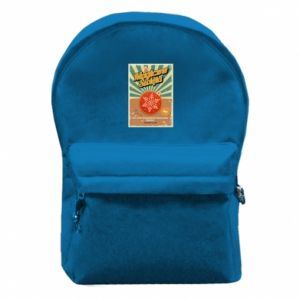 Backpack with front pocket Magical Christmas