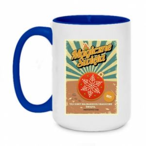 Two-toned mug 450ml Magical Christmas