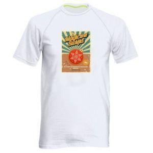 Men's sports t-shirt Magical Christmas