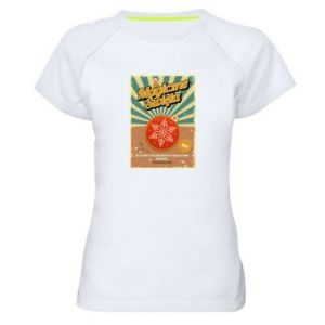 Women's sports t-shirt Magical Christmas