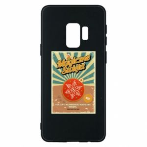 Phone case for Samsung S9 Magical Christmas