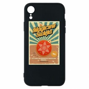 Phone case for iPhone XR Magical Christmas