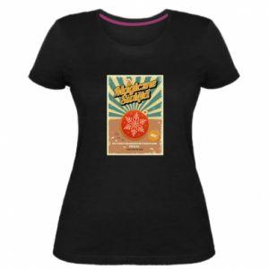 Women's premium t-shirt Magical Christmas