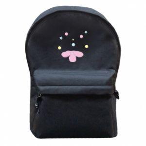 Plecak z przednią kieszenią Magiczny kwiat