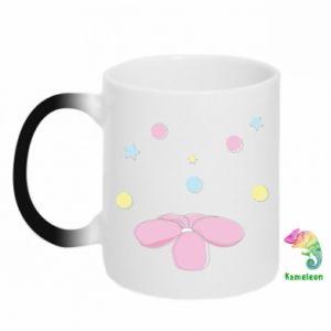 Chameleon mugs Magic flower
