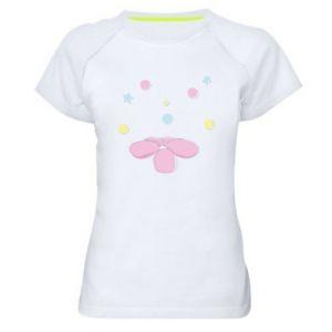 Koszulka sportowa damska Magiczny kwiat