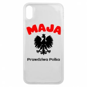 Phone case for iPhone 7 Maja is a real Pole - PrintSalon