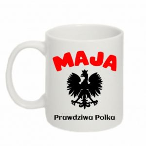 Mug 330ml Maja is a real Pole - PrintSalon