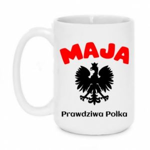 Mug 450ml Maja is a real Pole - PrintSalon