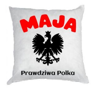 Pillow Maja is a real Pole - PrintSalon